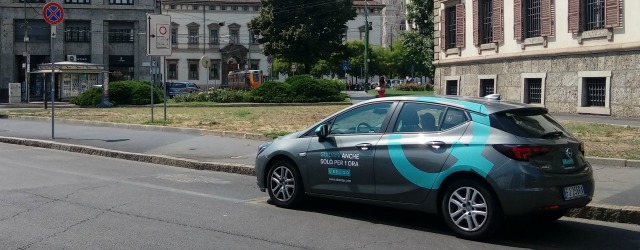 car sharing 2018 Ubeeqo Milano