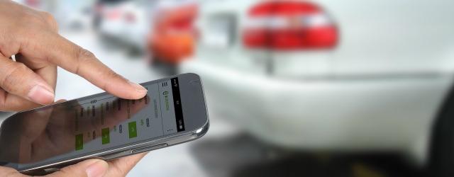 Car sharing aziendale: ritiro dell'auto tramite la App di Targa Telematics