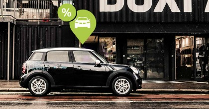 car sharing DriveNow - Drive'n Save
