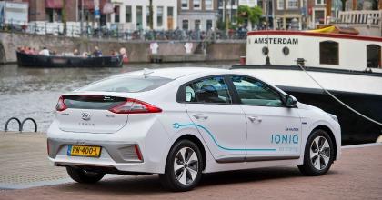 car sharing elettrico Hyundai Amsterdam