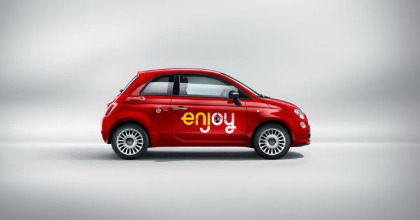 car sharing Enjoy - Fiat 500