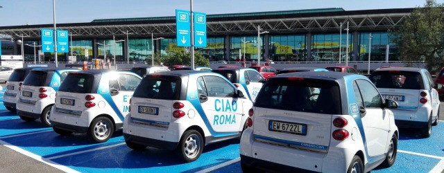 Aeroporto Fiumicino car2go