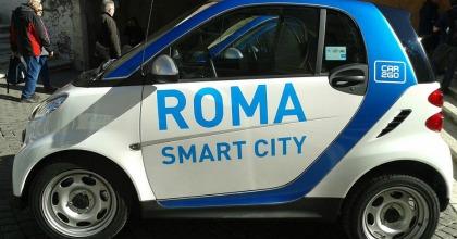 car2go roma, smart
