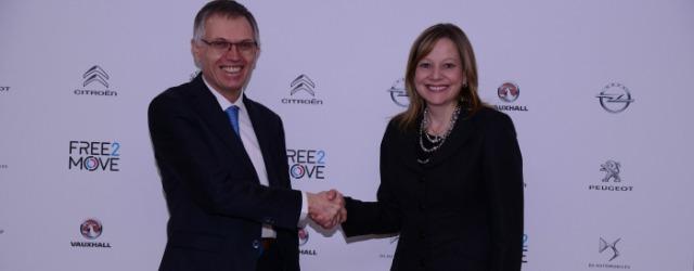Carlos Tavares Mary Barra - PSA acquista Opel