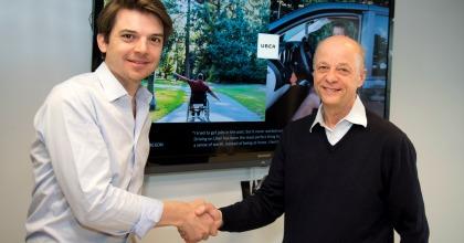 collaborazione LeasePlan-Uber P.-D. Gore-Coty e T. Gunning