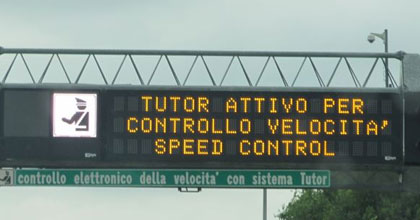 Come funziona il tutor autostradale