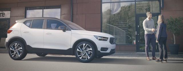 La condivisione del nuovo Volvo XC40