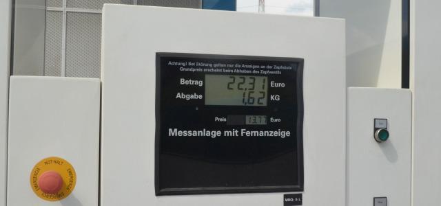 costo carburante auto a idrogeno