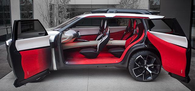 design Nissan Xmotion