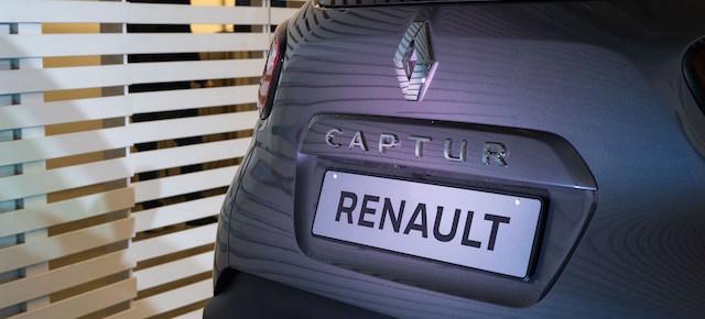 dettaglio del posteriore del nuovo Renault Captur Sport Edition