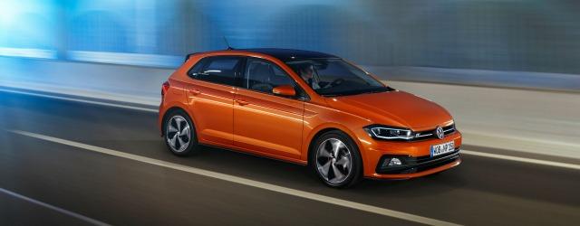 Uno scatto in azione per la nuova Volkswagen Polo 2017