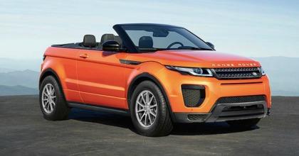 Nuovo ingresso nella Dream Collection Hertz: Range Rover Evoque Convertible