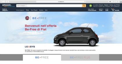e-commerce per Leasys BE-FREE su Amazon