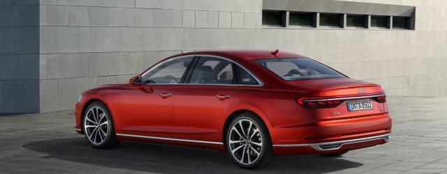 esterni nuova Audi A8