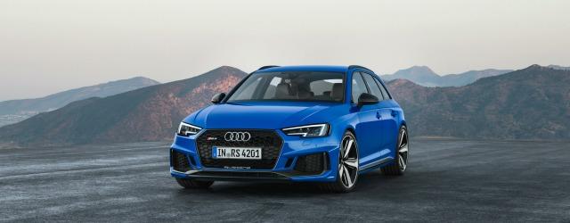 esterni nuova Audi RS 4 Avant