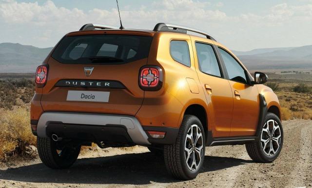 gamma Dacia 2018, esterni nuova Duster