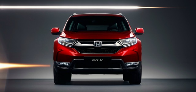 esterni nuova Honda CRV 2018