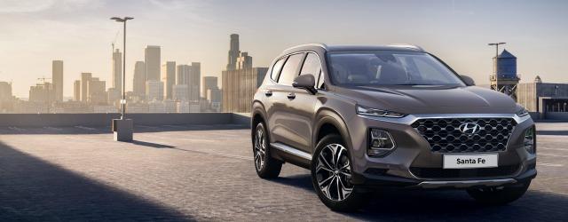 esterni nuova Hyundai Santa Fe 2018