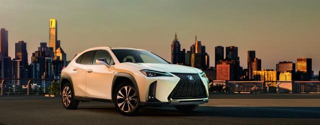 esterni nuova Lexus UX 2019