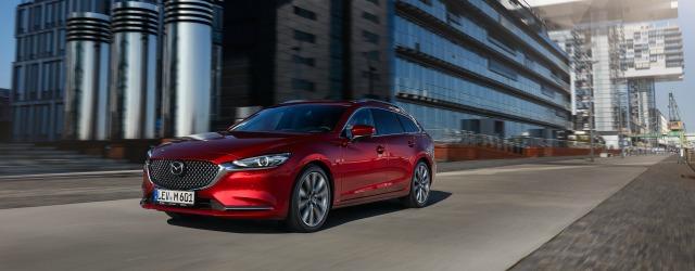 esterni nuova Mazda6 2018