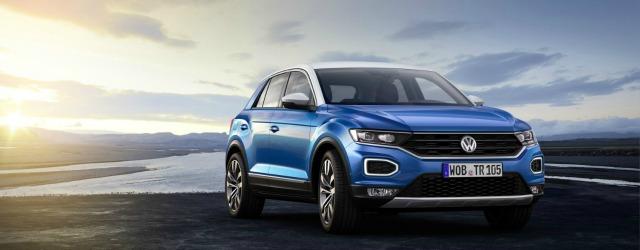 esterni nuova Volkswagen T-Roc 2018