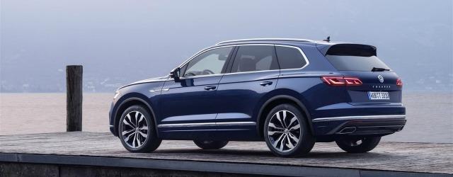 esterni nuova Volkswagen Touareg 2018