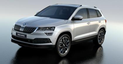 Gli esterni della Škoda KAROQ