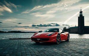 La Ferrari V8 458 Italia