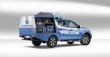 Fiat Fullback per la Polizia Scientifica