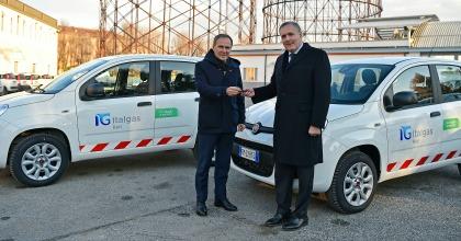 flotta aziendale Italgas consegna mezzi
