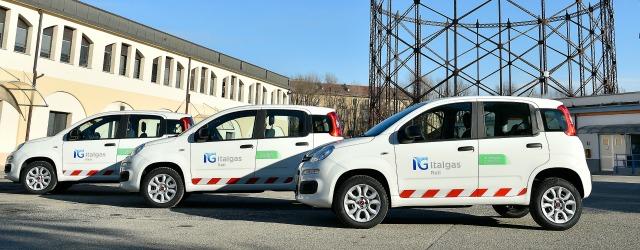 flotta aziendale Italgas auto a metano