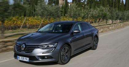 Gli esterni della Renault Talisman, adatta alle flotte aziendali
