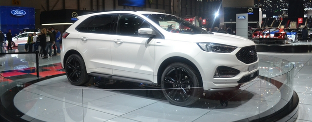 ford edge al salone di ginevra 2018