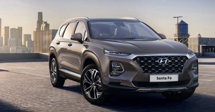 foto ufficiale nuova Hyundai Santa Fe 2018