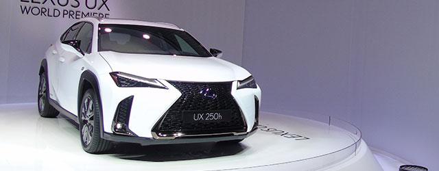 Lexus UX al Salone di Ginevra 2018