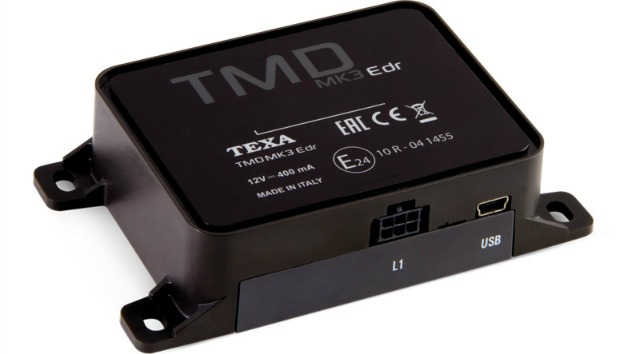La black box di terza generazione firmata Texa: TMD MK3
