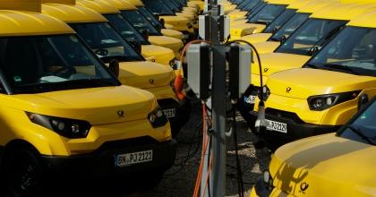 I furgoncini elettrici StreetScooter di Deutsche Post