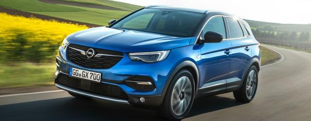 gamma Opel 2018 nuova Grandland X