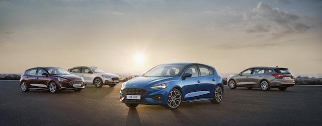 La gamma legata alla Nuova Ford Focus