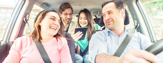Una foto generica che racconta il servizio di car pooling BlaBlaCar