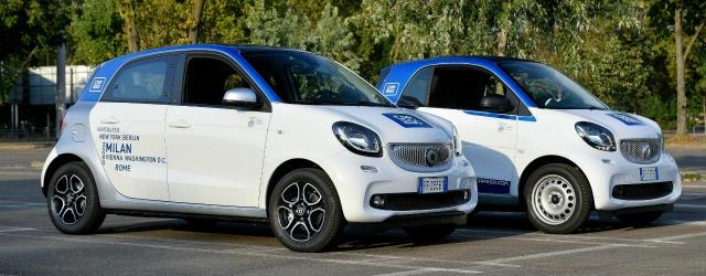 Il corporate car sharing di car2go cresce in Italia
