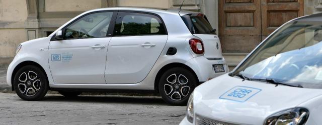 immagine generica per il servizio di car sharing car2go di Firenze