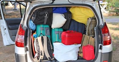 immagine generica per il trasporto di cose a bordo di un'auto