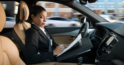 guida autonoma Volvo 2017