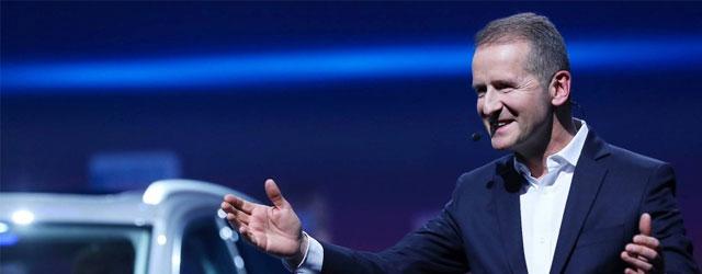 Herbert Diess nuovo CEO Volkswagen