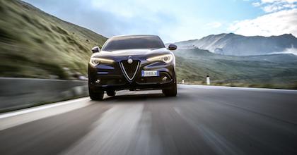 Tra i modelli della Hertz Winter Collection c'è Alfa Romeo Stelvio