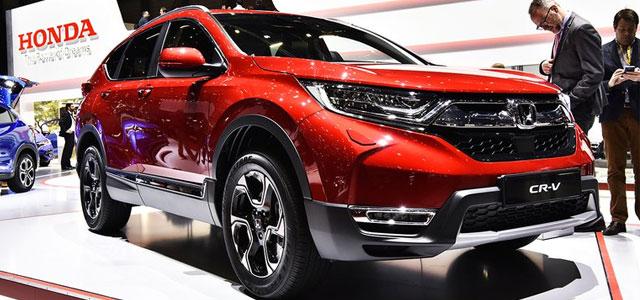 Nuova Honda CR-V 2018, Anteprima Europea Al Salone Di