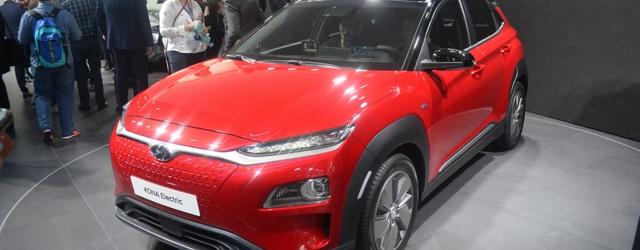 Hyundai Kona elettrica al Salone di Ginevra 2018
