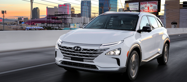 Il nuovissimo Hyundai NEXO auto a idrogeno