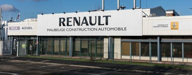 ingresso stabilimento Maubeuge Renault